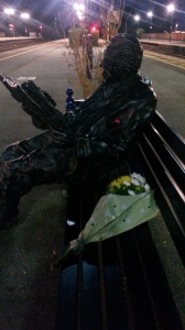 Nick Winton's statue at Maidenhead station