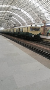 Local trains in Madras