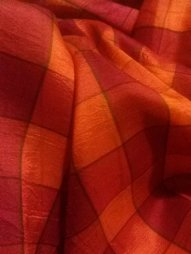 My mother's silk saree